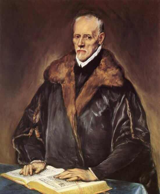 A prelate - by El Greco