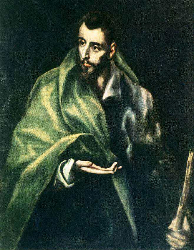 Apostle st james the greater - by El Greco