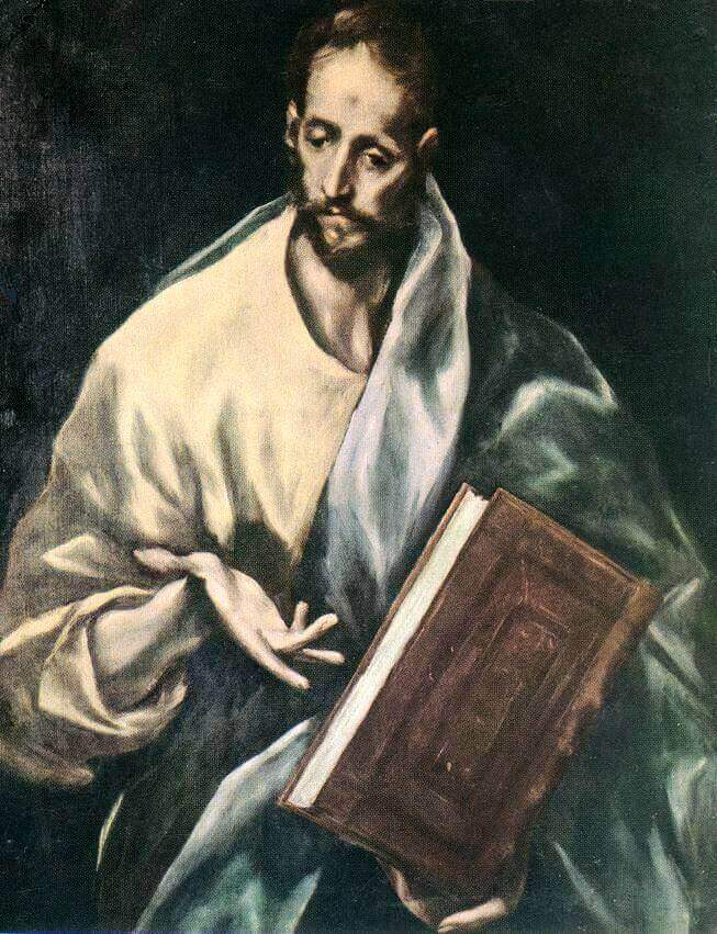 Apostle st james the less - by El Greco