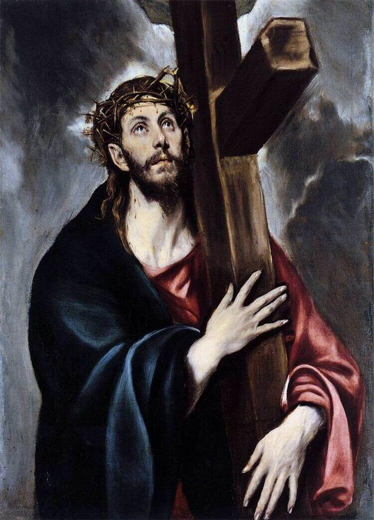 Christ Carrying the Cross, 1594-1604 by El Greco