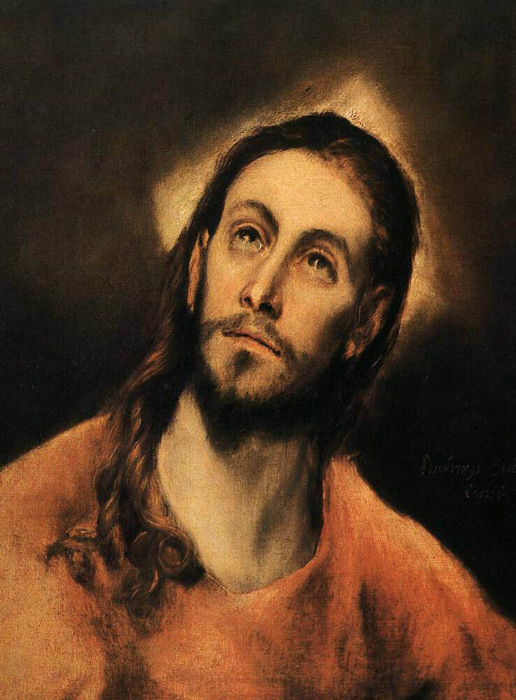 Christ - by El Greco
