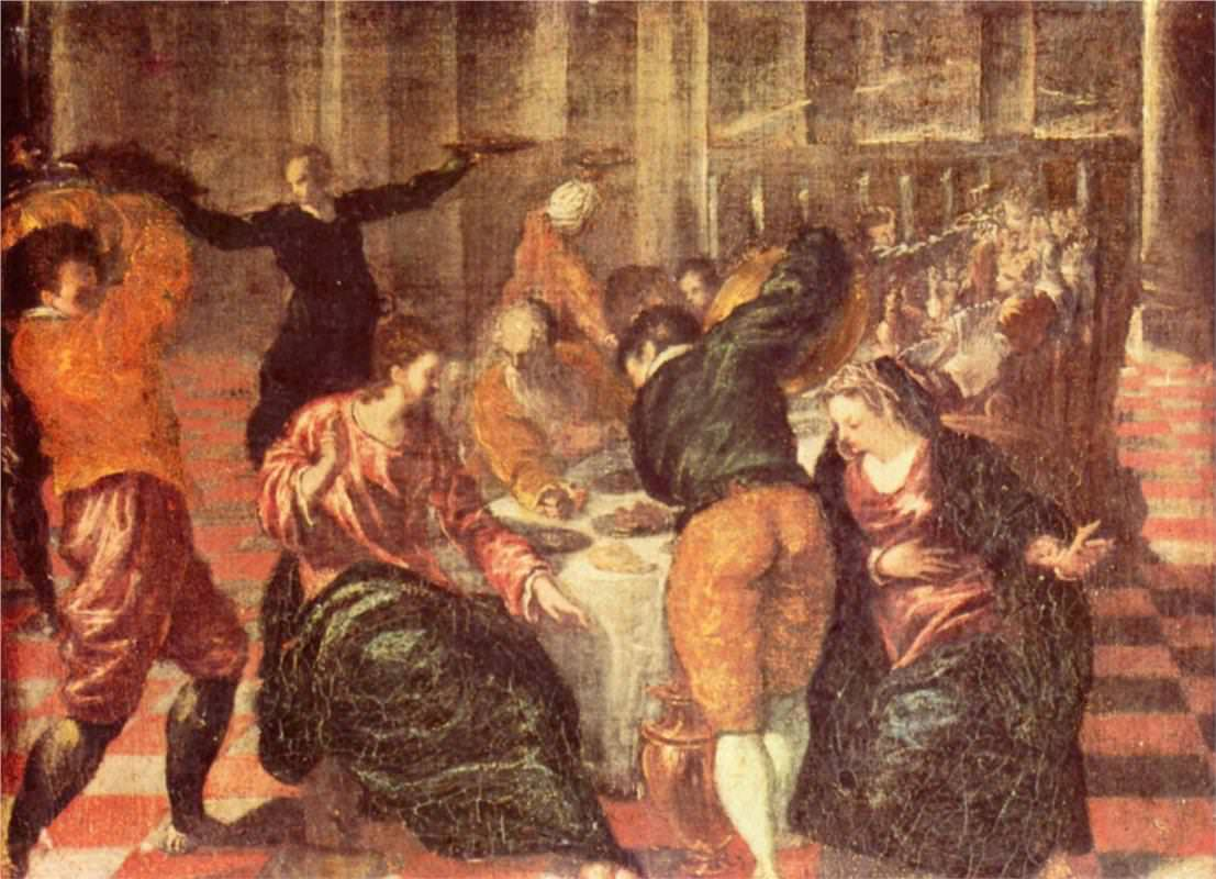 Marriage at cana - by El Greco