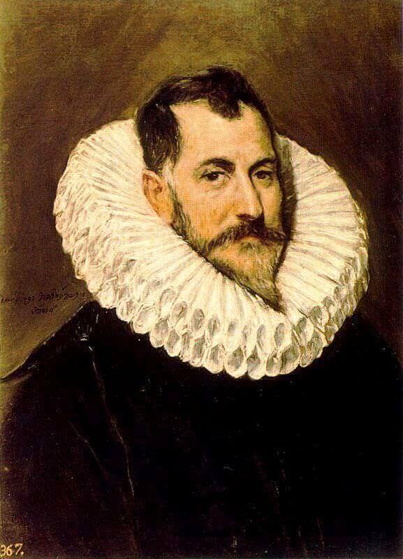 Portrait of a man - by El Greco