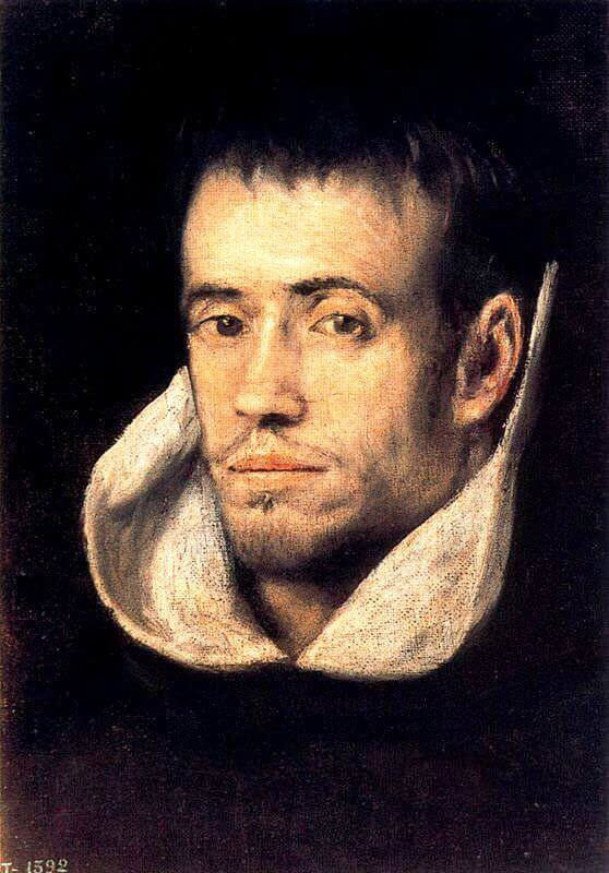 Portrait of dominican friar - by El Greco
