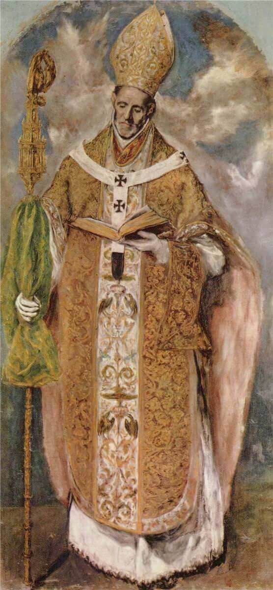 St idelfonso - by El Greco