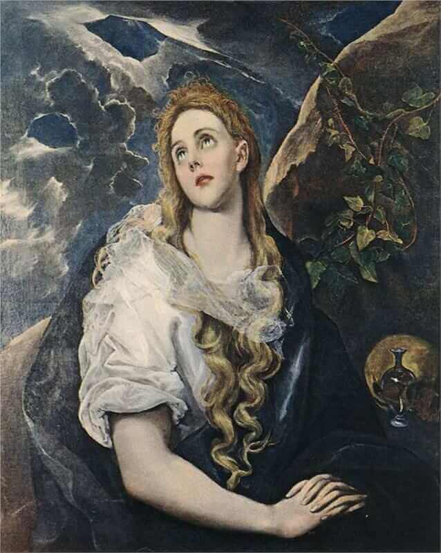 St mary magdalene - by El Greco