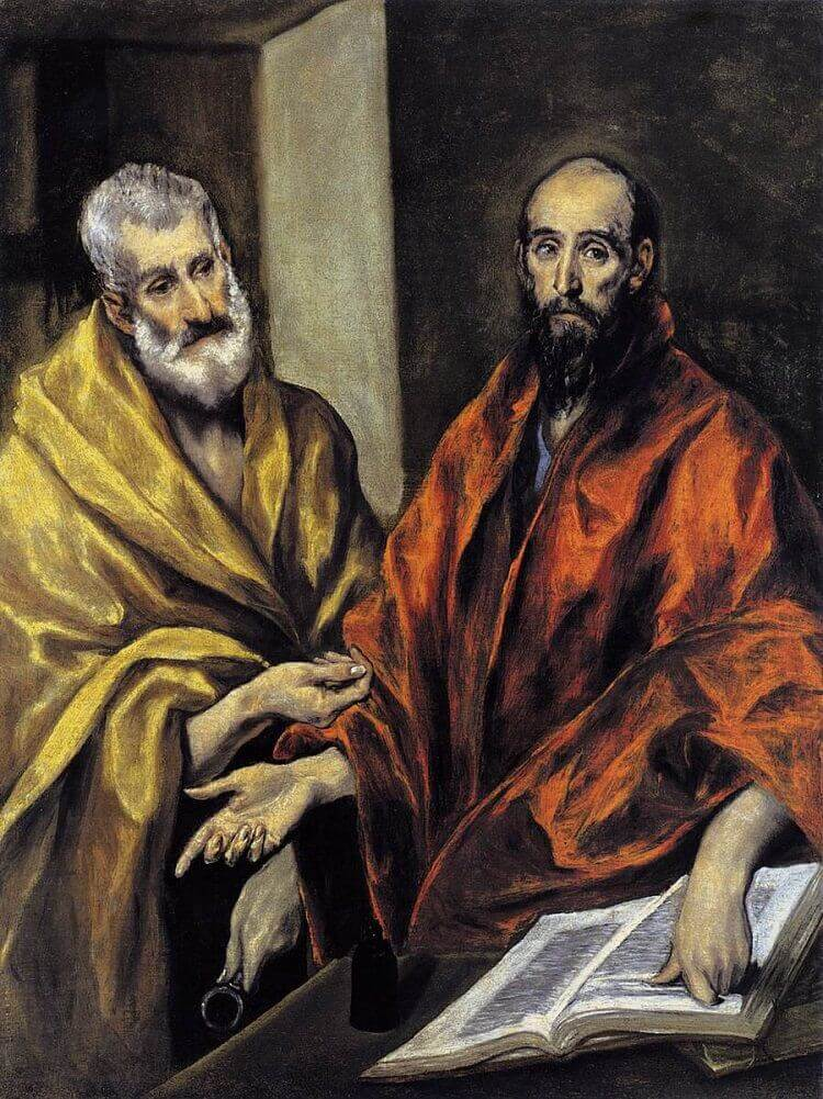 St. Peter and St. Paul, 1605-08 by El Greco
