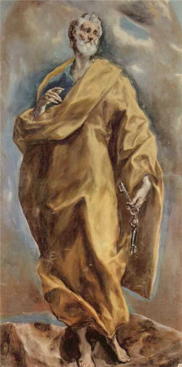 St peter - by El Greco