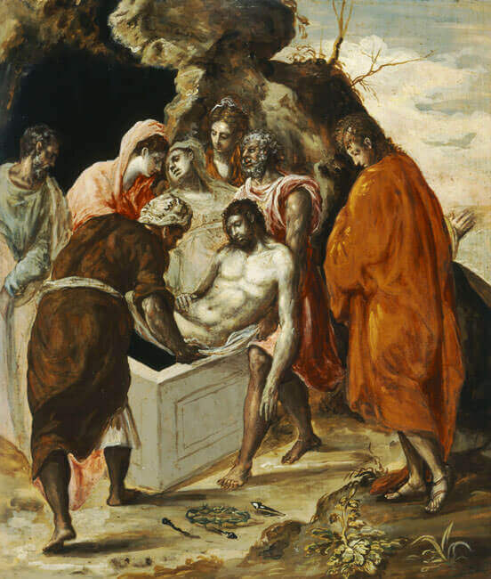 The Entombment of Christ, 1586 by El Greco