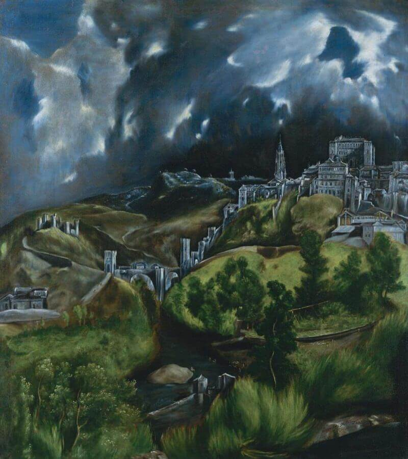 View of Toledo, 1604-14 by El Greco
